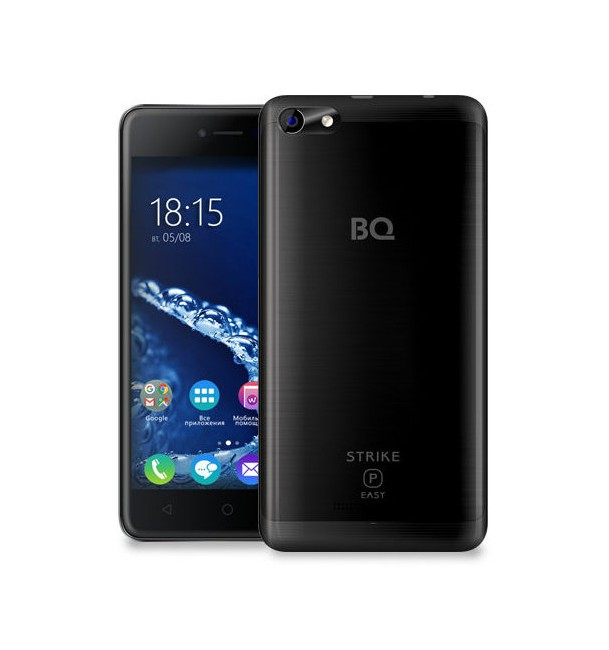 Смартфон BQ 5058 Strike Power Easy (Black)