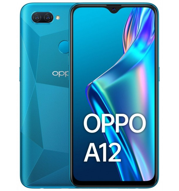 Смартфон OPPO A12 3/32GB (Blue) EU