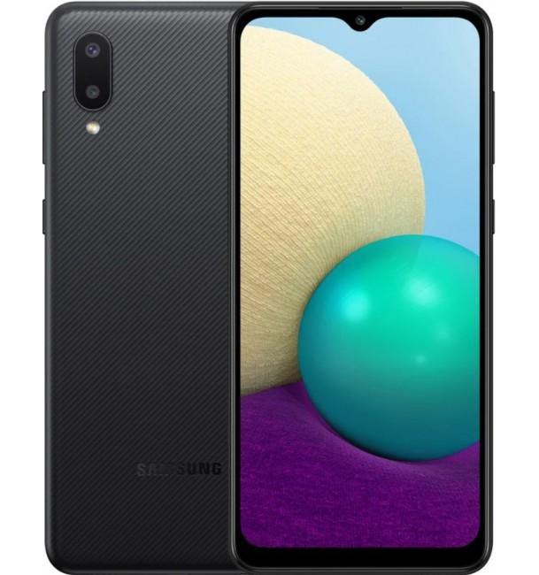 Смартфон Samsung Galaxy A02 A022G 2/32Gb (Black)
