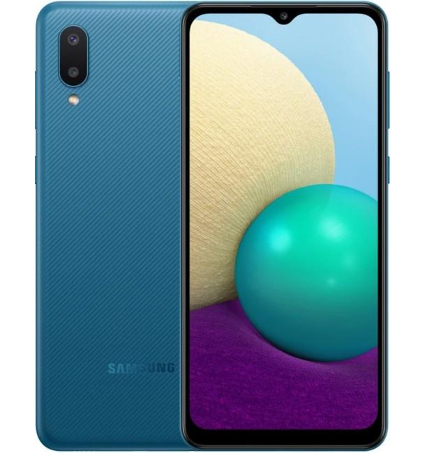 Смартфон Samsung Galaxy A02 A022G 2/32Gb (Blue)